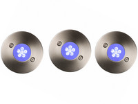 3x Lucide Trio Buitenspot | LED