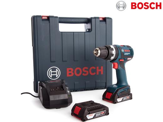Bosch Bohrschrauber DynamicSeries | 18 V | Inkl. 2 Akkus (je 2 Ah)