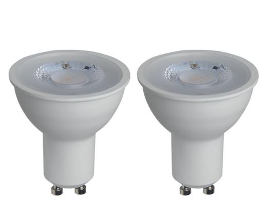 2x LED Lampen | GU10 | 7 W | Dimmbar ...