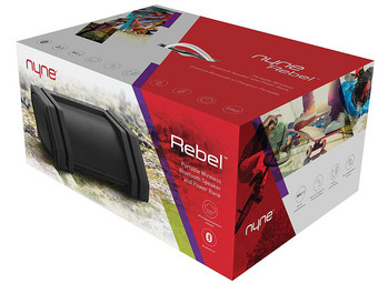Rebel IPX3 Bluetooth Lautsprecher