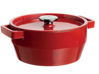 Pyrex Slowcook Rond 20 cm Rood 2.2 L