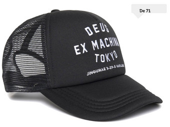Deus Trucker Caps