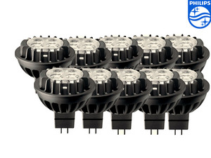 10x Philips Master LED-Spots – 2.700/3.000 K