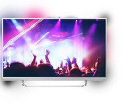"55"" 4K Android Smart TV 3-Zijdig Ambilight"