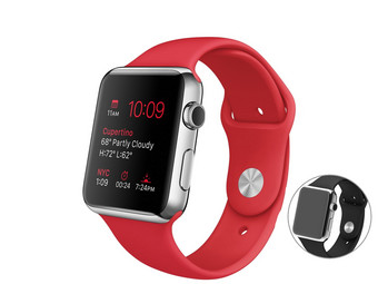 Apple Watch Sport 42 mm mit Sportarmband