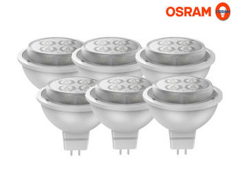 6x Osram Dimbare LED-lamp