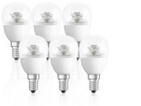 6x Dimmbare LED-Lampen 2.700 K