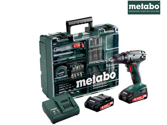 Metabo BS 18 Accuboor | 18 V | 2x 2.0 Ah Accu