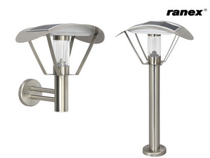 Ranex LED Solar Wall Light/ Garden