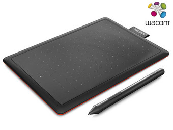 One by Wacom Pen Tablet | New Edition (Small)