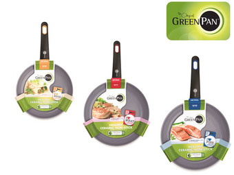 Greenpan Frying Pan Set
