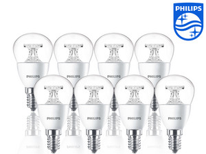 Zestaw 8 lamp LED Philips | 40 W | E14