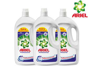3x Ariel Professional Wasmiddel | Regular of Colour