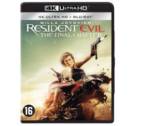 Resident Evil: The Final... (4K Blu-ray)