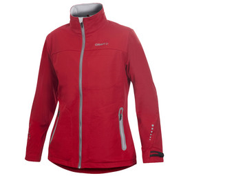 Craft Softshell Jas | Dames