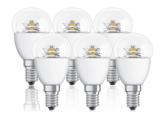Schon 6x Osram Dimmbare LED Lampen 4 W | E 14 ...