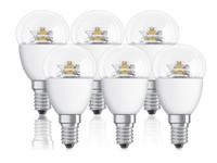 6x Osram Dimmbare LED Lampen 4 W | E 14