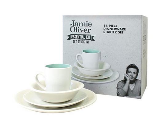 ... Jamie Oliver 16-piece Crockery Set ...  sc 1 st  iBOOD.com & Jamie Oliver 16-piece Crockery Set - Internetu0027s Best Online Offer ...