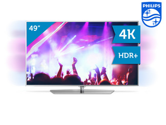 Philips 49″ 4K UHD LED-TV met Tweezijdige Ambilight
