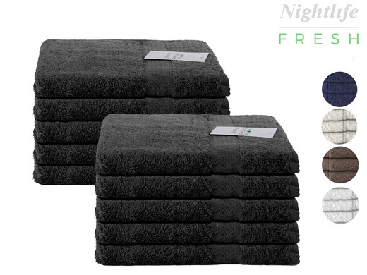 10X Nightlife Handdoeken