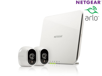 Netgear Arlo HD Bewakingssysteem Incl. 2 Camera's