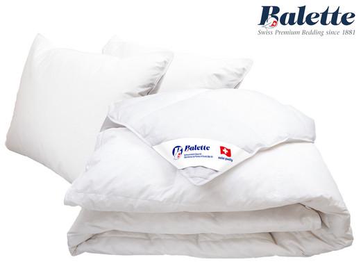 balette bettdecke 240 x 220 cm 2 x kissen daunen internet 39 s best online offer daily. Black Bedroom Furniture Sets. Home Design Ideas