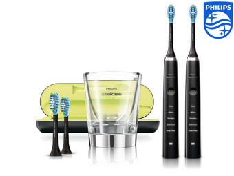 2x Philips Sonicare DiamondClean Toothbrush Incl. Accessories