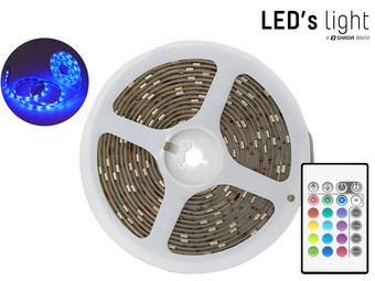 2x LED's Light RGB LED Strip | 5 m | 150 LEDs