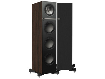 Q700 Speakers | Walnut