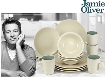 Jamie Oliver 16-piece Crockery Set