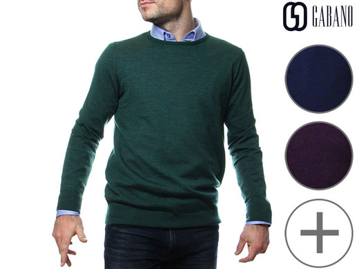 Dagaanbieding - Gabano Pullover (Merino Wol) dagelijkse koopjes