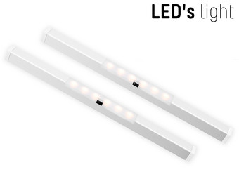 2x LED's Light Ledbar met Sensor