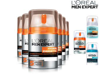 6x L'Oréal Paris Skincare for Men