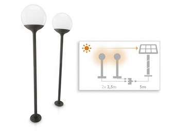 2x Philips Tuinlamp Blossom | LED