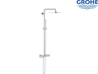 grohe euphoria xxl 230 duschsystem mit thermostatbatterie internet 39 s best online offer daily. Black Bedroom Furniture Sets. Home Design Ideas