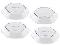 4x Linksys Business Pro AC Dual-Band MU-MIMO Acces