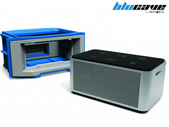 BluCave Audio Zone Systeemkoffer met Bluetooth Speaker