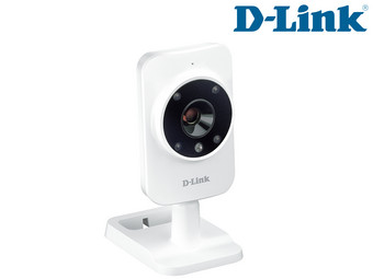 D-Link Home Monitor Camera with Movement and Sound Detection