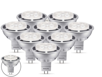 8x Philips LED Lamp | GU5.3