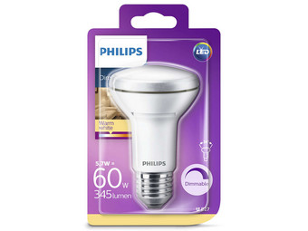 8x Philips LED | 8,5 W | E27 | Dimbaar