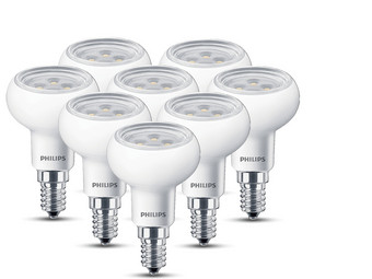 8x Philips LED Lamp | E14