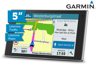 Garmin 5″ DriveLuxe Car Navigation | EU