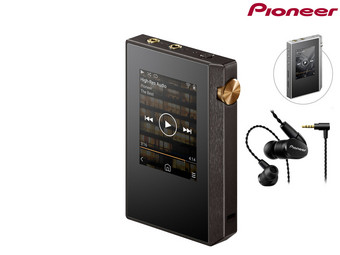 Pioneer Hi-Res Audiospeler + In-ears