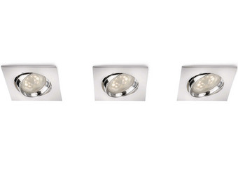 3x Philips Inbouw-spot Galileo | LED