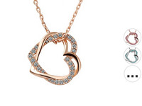 Estous Entwined Hearts | Ketting