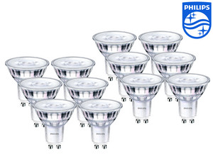 12x Philips GU10 LED Spot (5,5 W)