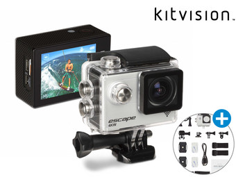 Kitvision Escape 4KW Action Cam Incl. Accessories