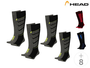 4x Head ski socks
