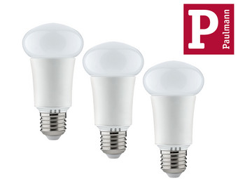 3x Paulmann Smart Bulb RGB LED with Bluetooth 4.0 7 W | E27