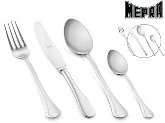 Mepra Cutlery Set Boston or Sveva | 24-piece